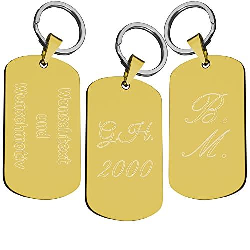 Top 10 Initial Ring Gold – Geldklammern