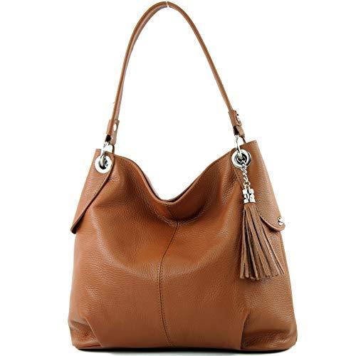 Top 9 Damen Tasche Cognac Leder – Damen-Schultertaschen