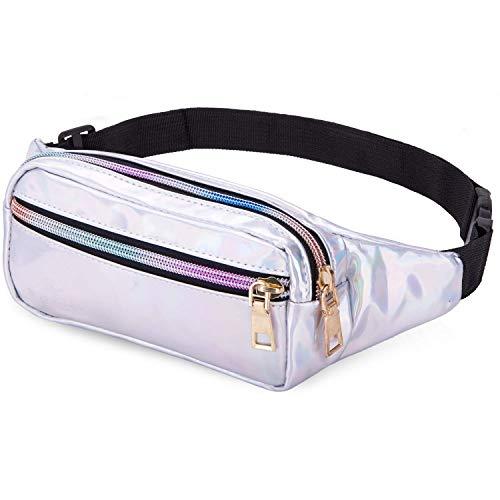 Top 10 Bauchtasche Klein Silber – Mode-Hüfttaschen