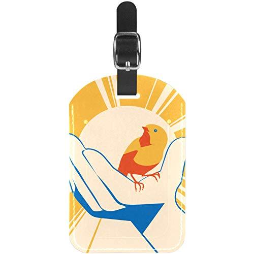 Top 10 Vögel Poster – Koffer- & Taschenanhänger