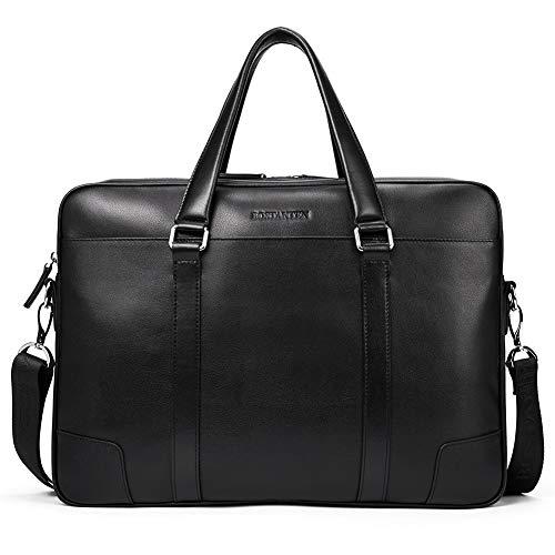 Top 10 Businesstasche Leder Herren 15 – Laptop-Schultertaschen