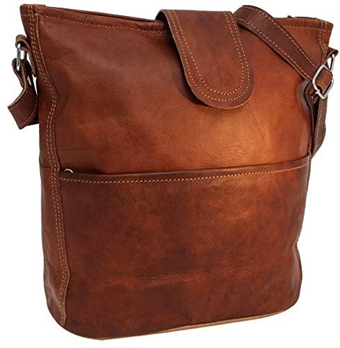 Top 10 Gusti Handtasche Damen Braun – Damen-Schultertaschen