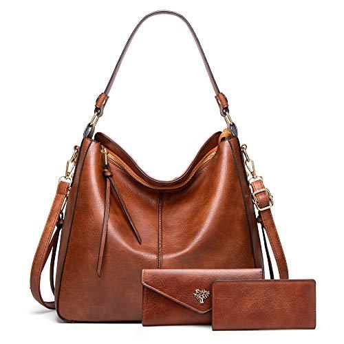 Top 10 Damentaschen groß Schwarz Leder – Damen-Henkeltaschen