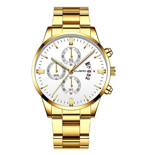 Top 9 Gold Uhr Herren Billig – Armbanduhren für Herren