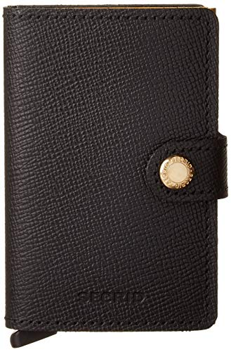 Top 4 secrid Miniwallet Black – Damen-Geldbörsen