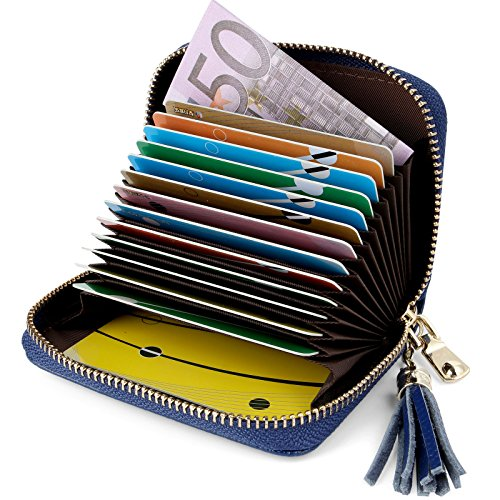 Top 10 Kreditkartenetui Damen Mit RFID Schutz – Kreditkartenhüllen für Damen