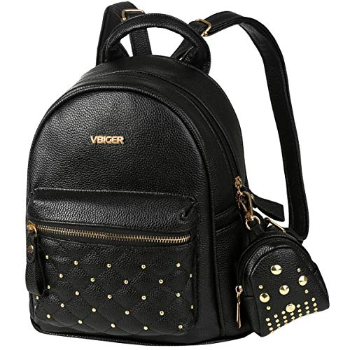 Top 10 Lederrucksack Frauen Schwarz – Damen-Rucksackhandtaschen