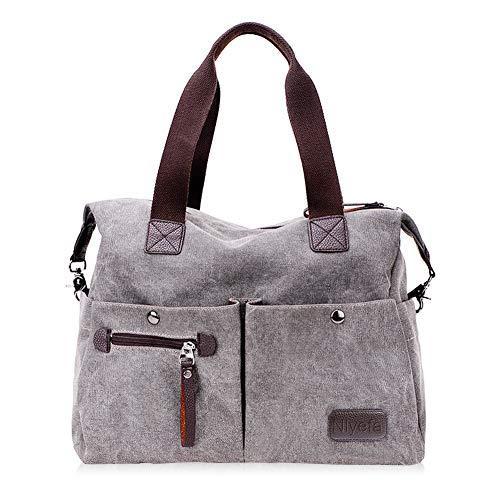 Top 10 Handtasche Groß Canvas – Damen-Schultertaschen
