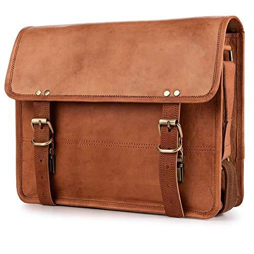 Top 10 Messenger Bag Damen Leder Braun – Laptop-Schultertaschen