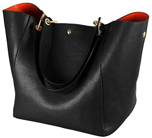 Top 9 Shopper Leder Groß – Damen-Schultertaschen