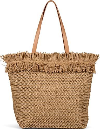 Top 10 Strandtasche Korb mit Reißverschluss – Damen-Shopper