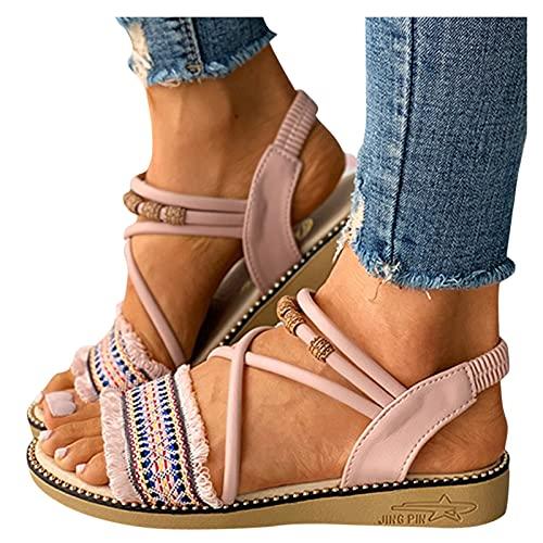 Top 10 Strandschuhe Damen Elegant – Damen-Sandalen