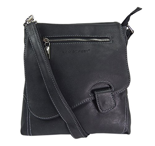 Top 6 Crossover Bag Damen Schwarz – Damen-Schultertaschen